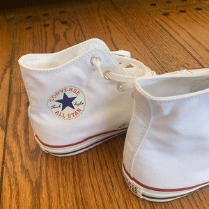 Converse Shoes - Converse White Hightops New in the Box